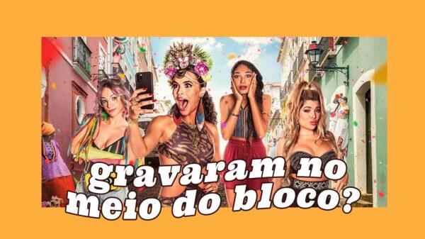 """Entrevistamos o elenco de """"Carnaval"""", nova comédia da Netflix!"""