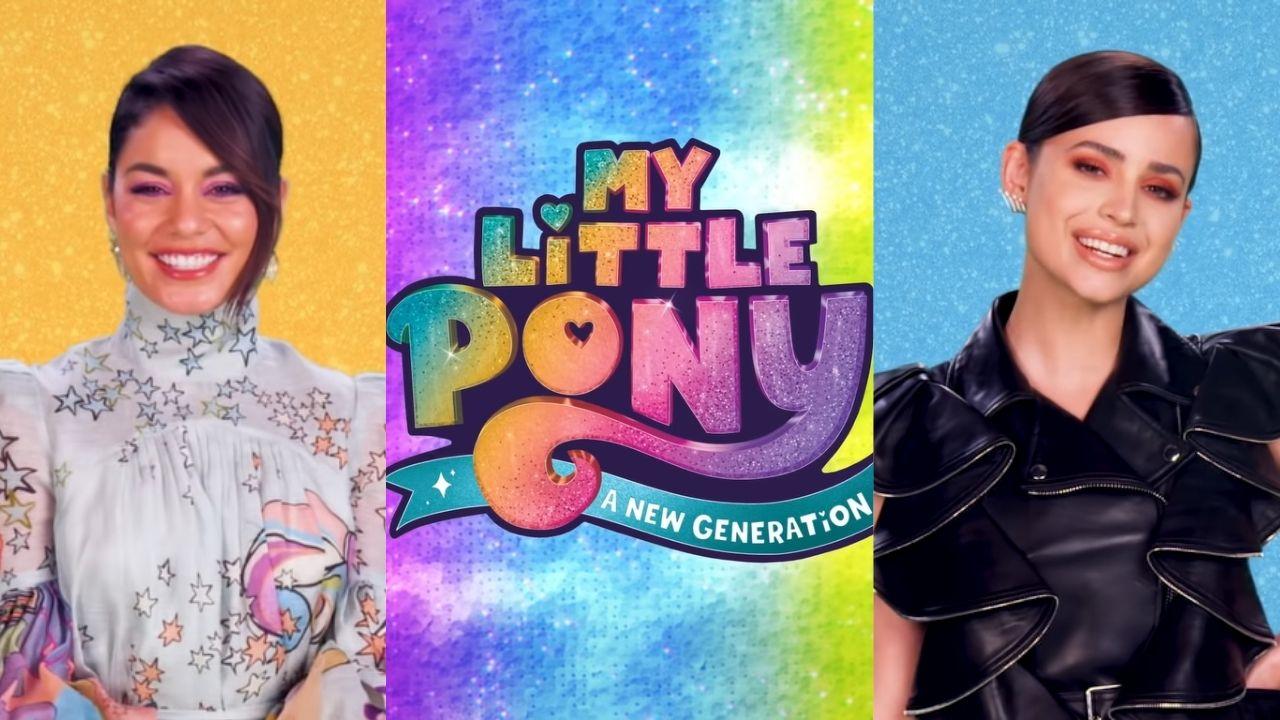 """Vanessa Hudgens e Sofia Carson serão dubladoras em filme da Netflix de """"My Little Pony"""""""