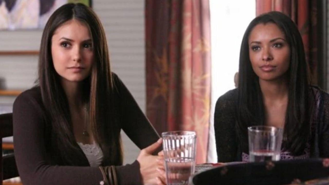 "Nina Dobrev e Kat Graham, de ""The Vampire Diaries"", se reencontram e celebram amizade"