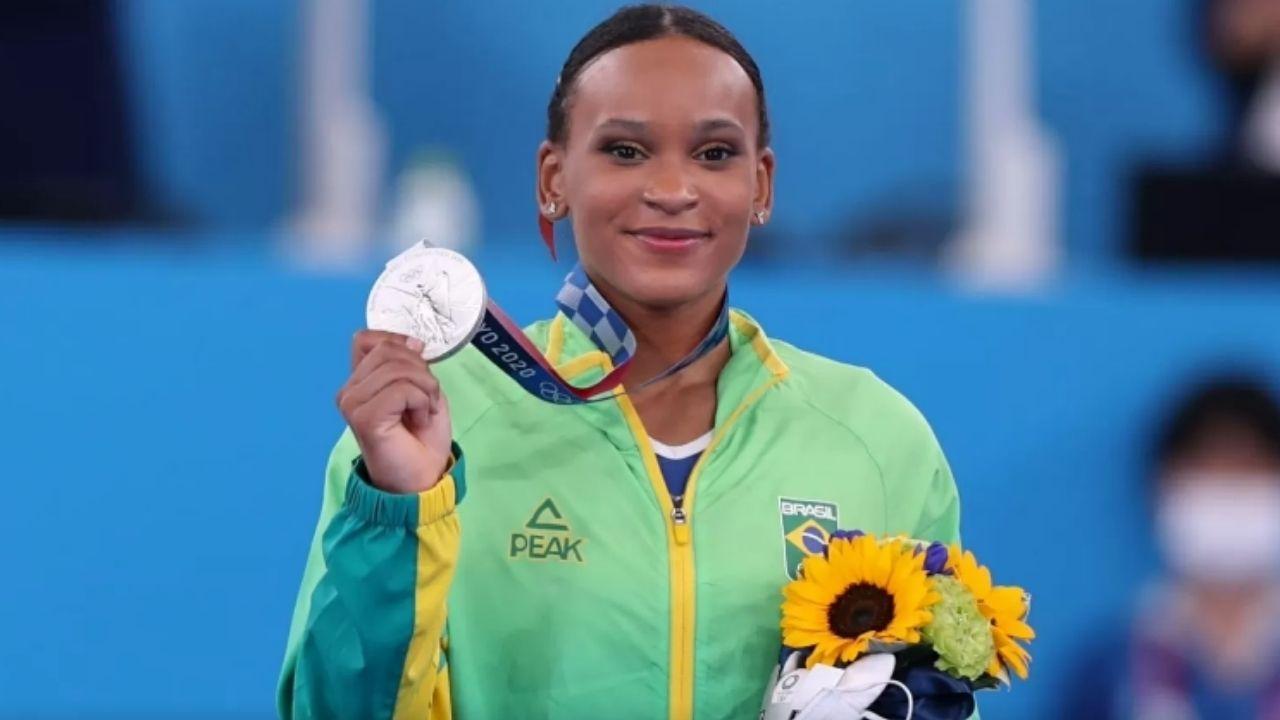 Histórica! Rebeca Andrade é prata na ginástica artística nas Olimpíadas de Tóquio