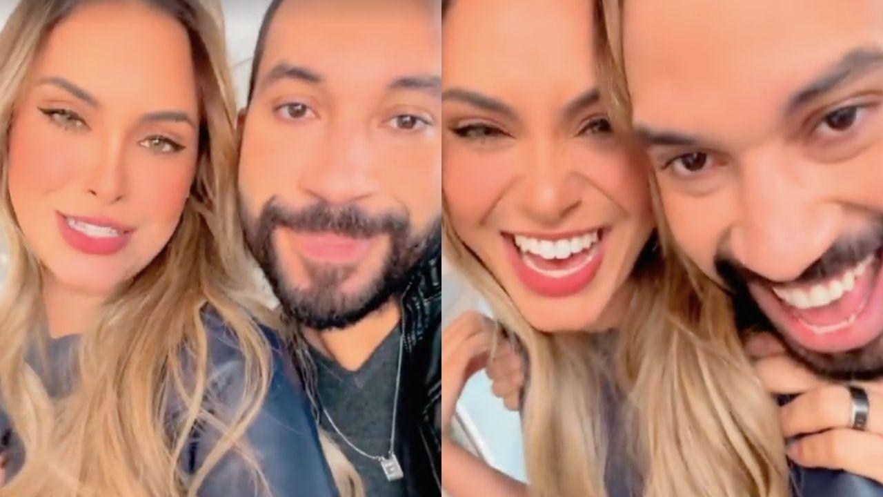 """Gil do Vigor e Sarah se reencontram: """"Sextou"""""""