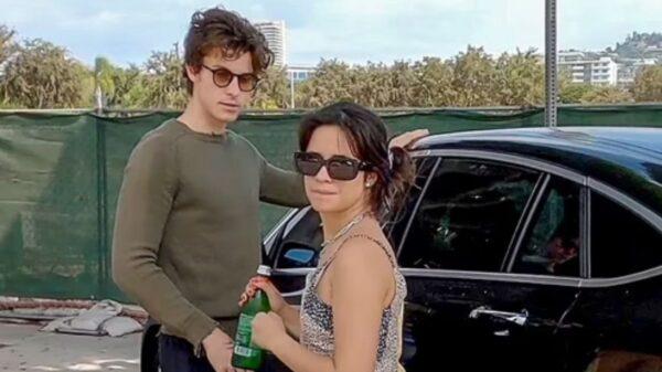 Shawn Mendes e Camila Cabello passam por momento inusitado em Los Angeles