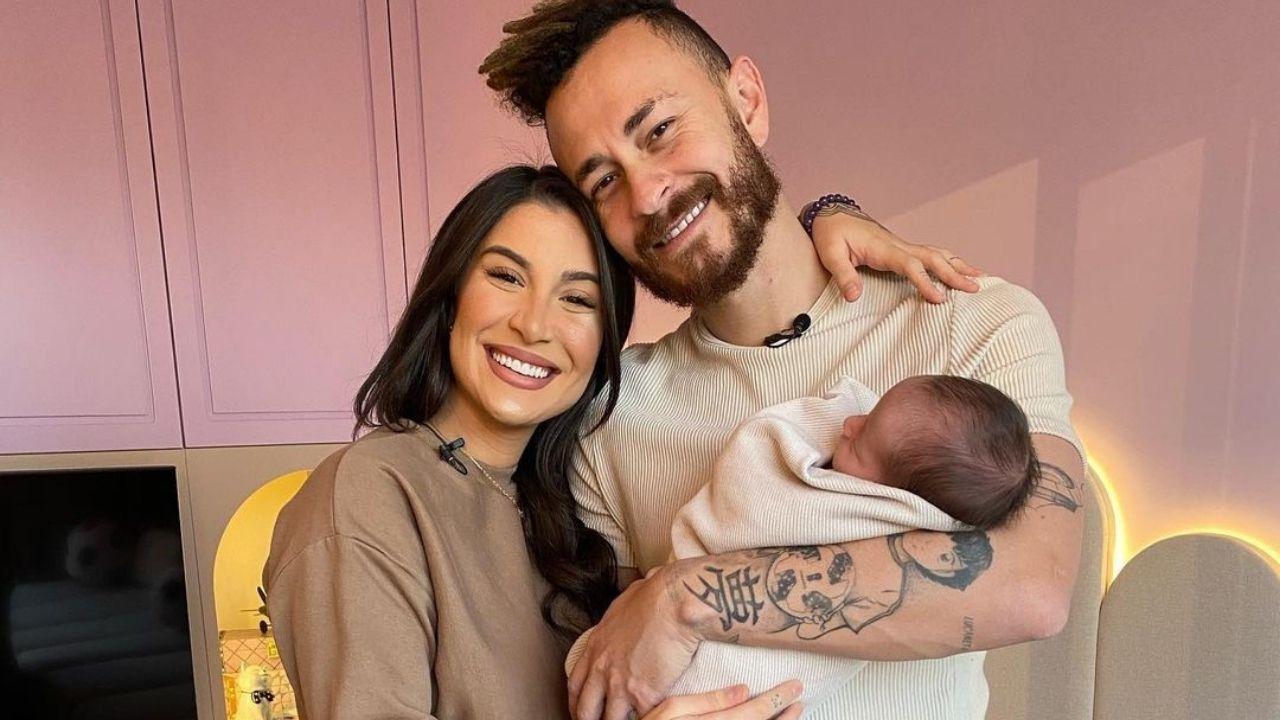 Bianca Andrade e Fred fazer tour no quarto do bebê Cris