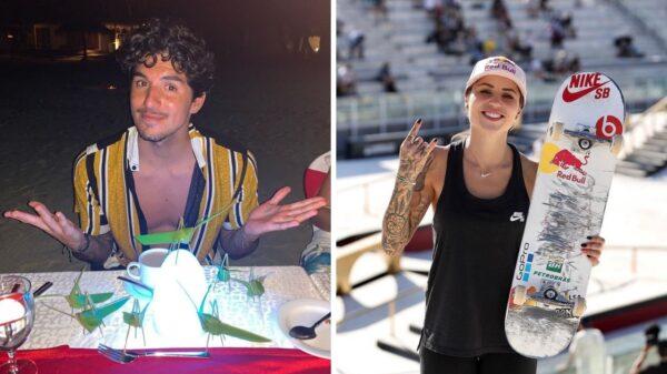 Após provocações, Gabriel Medina apaga tatuagem em homenagem a Letícia Bufoni