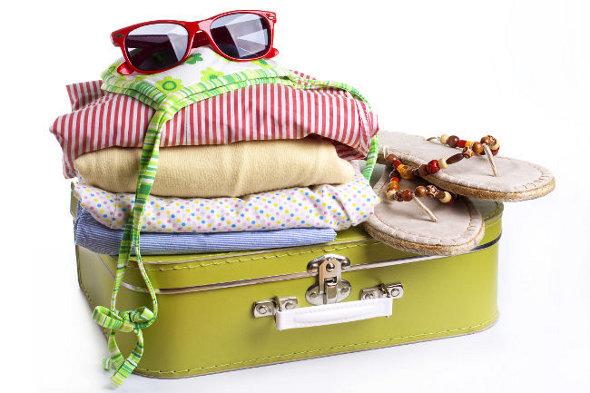 Como organizar a mala para a viagem nas férias de julho