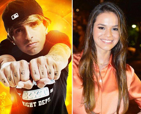 Bruna Marquezine nega ter ficado com rapper do Bond da Stronda