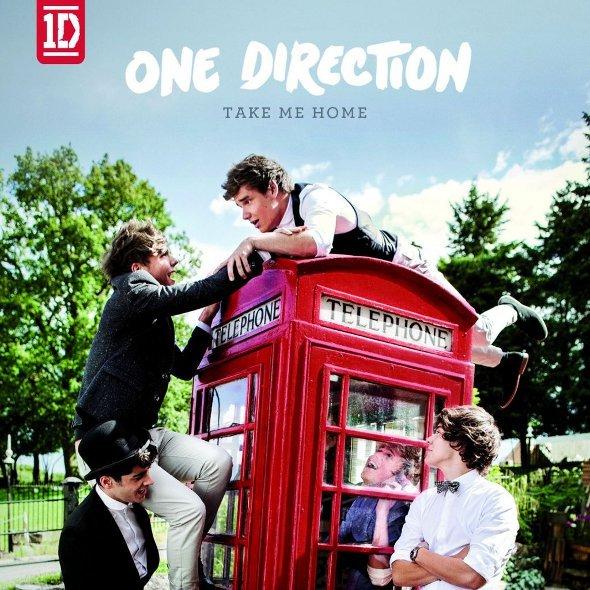 """One Direction divulga lista completa do álbum """"Take Me Home"""""""